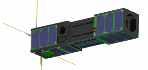 AtmoCube-1, a 3-U CubeSat for climate research