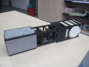 3D Printed Modell of AtmoCube-1 (without solar panels)